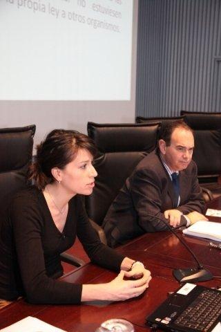 María Martínez Allegue. Directora da APLU.  - Xornada sobre a Protección da Legalidade Urbanística